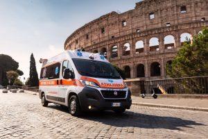 Ambulanza privata a Roma